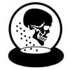 Snow Globe Skull